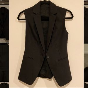 Beautiful black vest. Only used once.